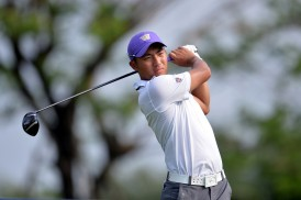 Cheng-Tsung Pan at the Open Qualifying Series on March 7, 2014 in Bangkok, Thailand.