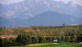 LONGKOU CITY, China: The view down the 7th fairway during the Asia -Pacific Amateur Championship at Nanshan International Golf Club, Garden Course during round two on Friday, October 25, 2013. Picture by David Paul Morris/AAC.